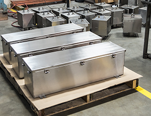 Stainless Steel Wireways and Enclosures