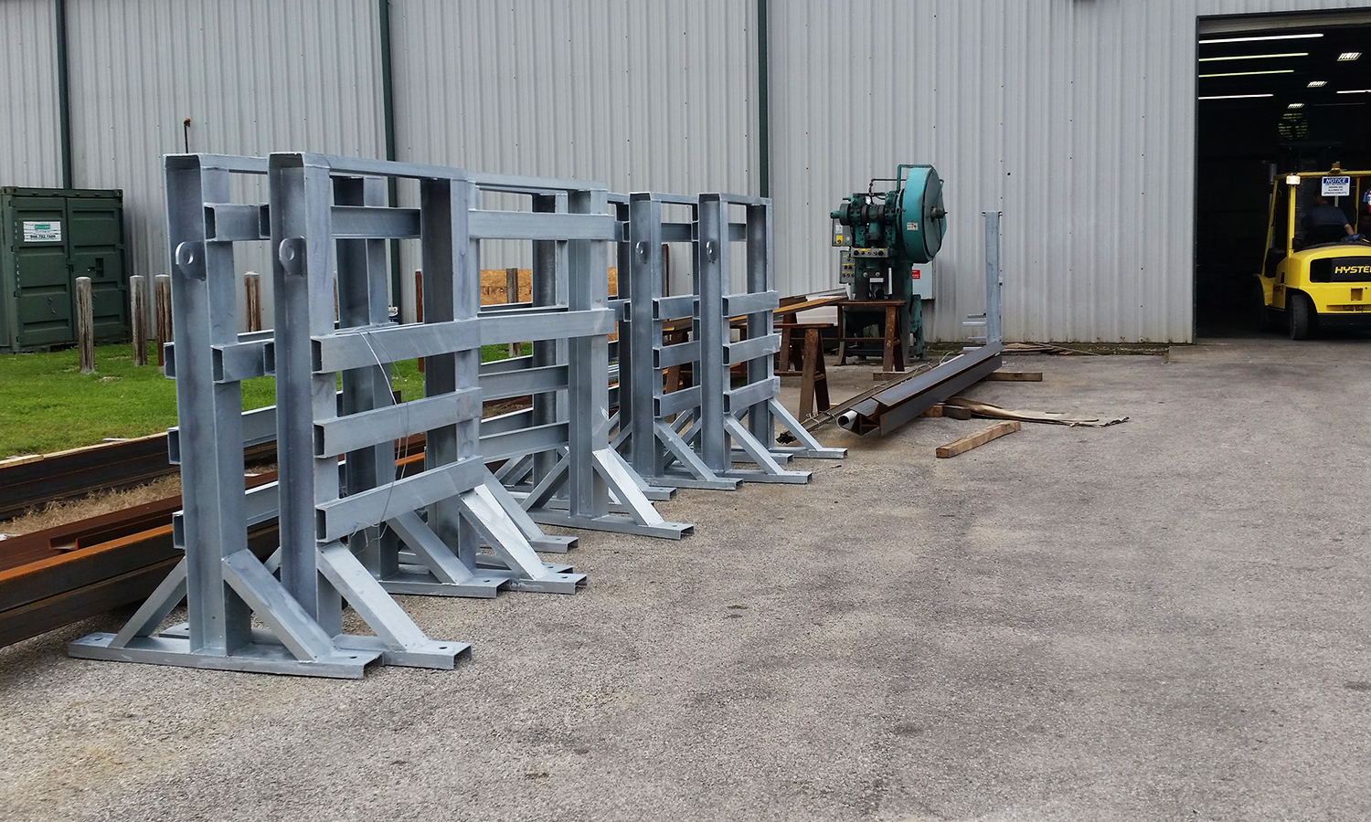 Switch Racks and Control Racks by Andrews Fabrication