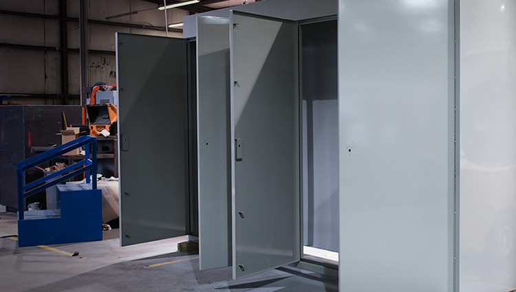 Walk In Electrical Enclosures Large Walk In Enclosures