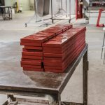 Waterjet Cutting - Red Board or Phenolic