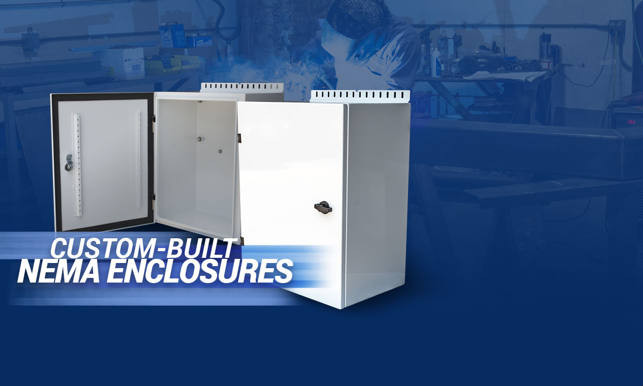 NEMA Enclosures Houston - NEMA 1, NEMA 3X, NEMA 3R, NEMA 4X, NEMA 12
