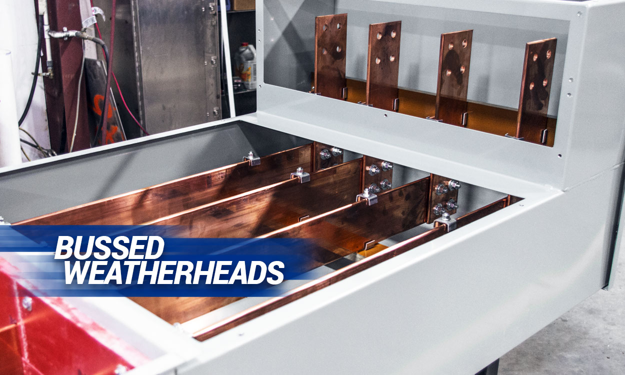 Bussed Weatherheads by Andrews Fabrication