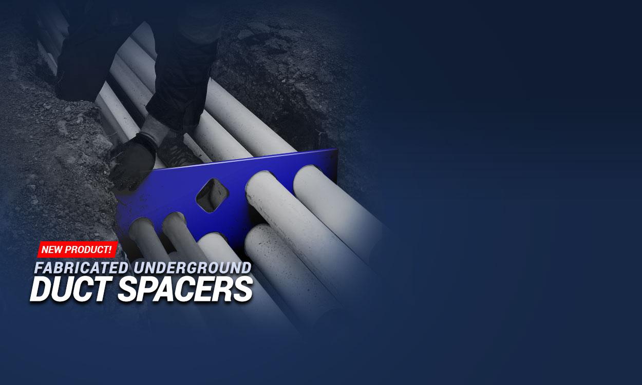Underground Conduit Spacers - Andrews Fabrication