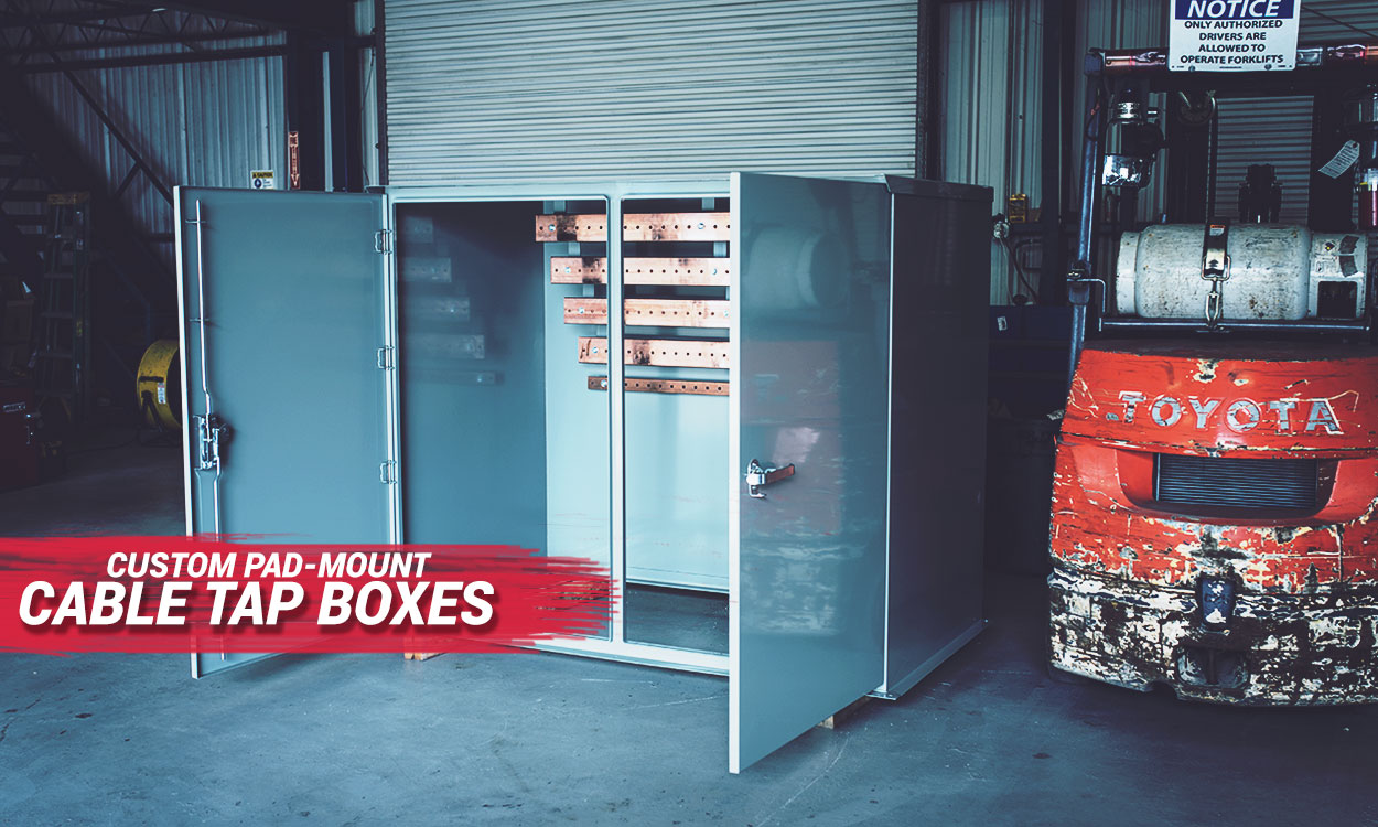 Pad-mount Cable Tap Boxes & Generator Tap Boxes