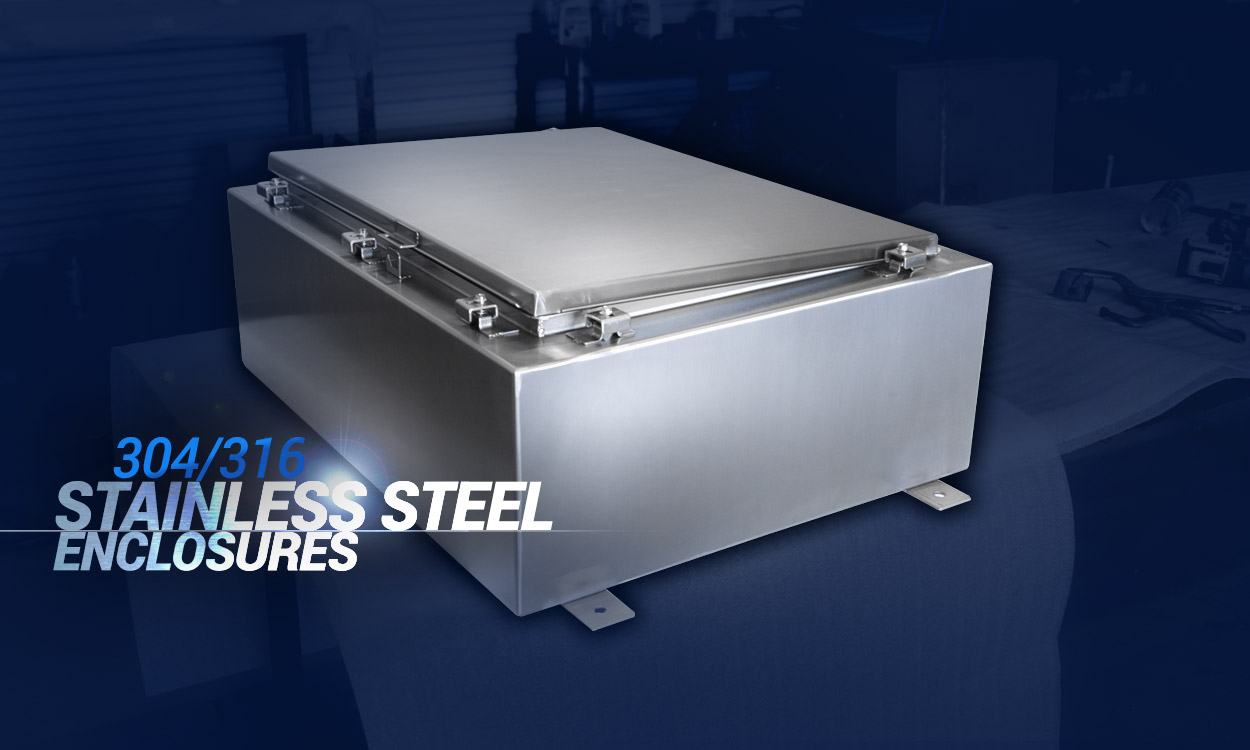 Stainless Steel Enclosures - 304/316
